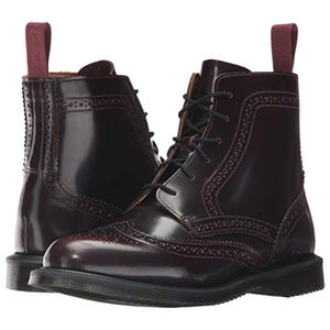 Dr. Martens Delphine Arcadia 6- Eye Brogue Boot